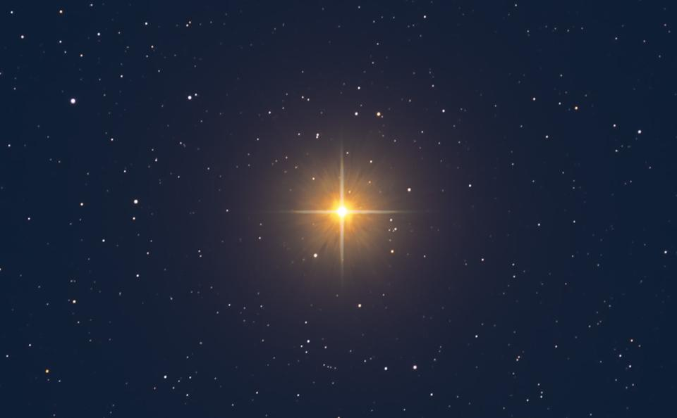 Betelgeuse, a Red Supergiant Star in Orion