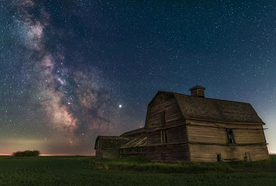 Milky Way at the Old Barn