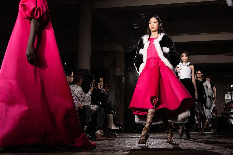 Huishan Zhang - Runway - LFW February 2020