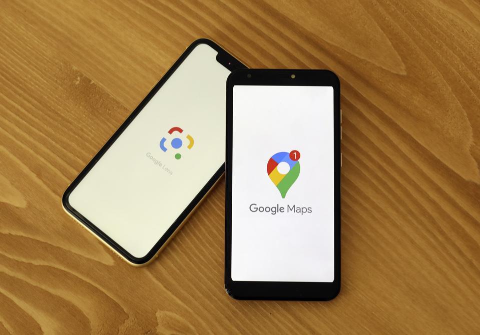 Google Maps - Google Lens