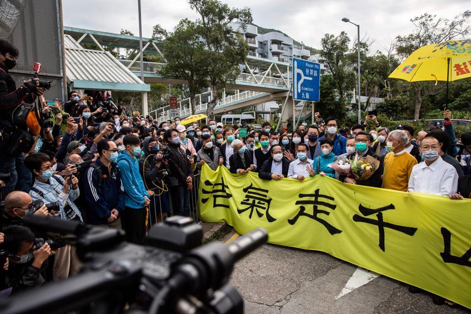 HONG KONG-PROTEST-DEMOCRACY
