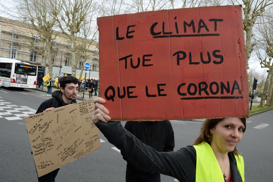 FRANCE-CLIMATE-ENVIRONMENT-DEMONSTRATION
