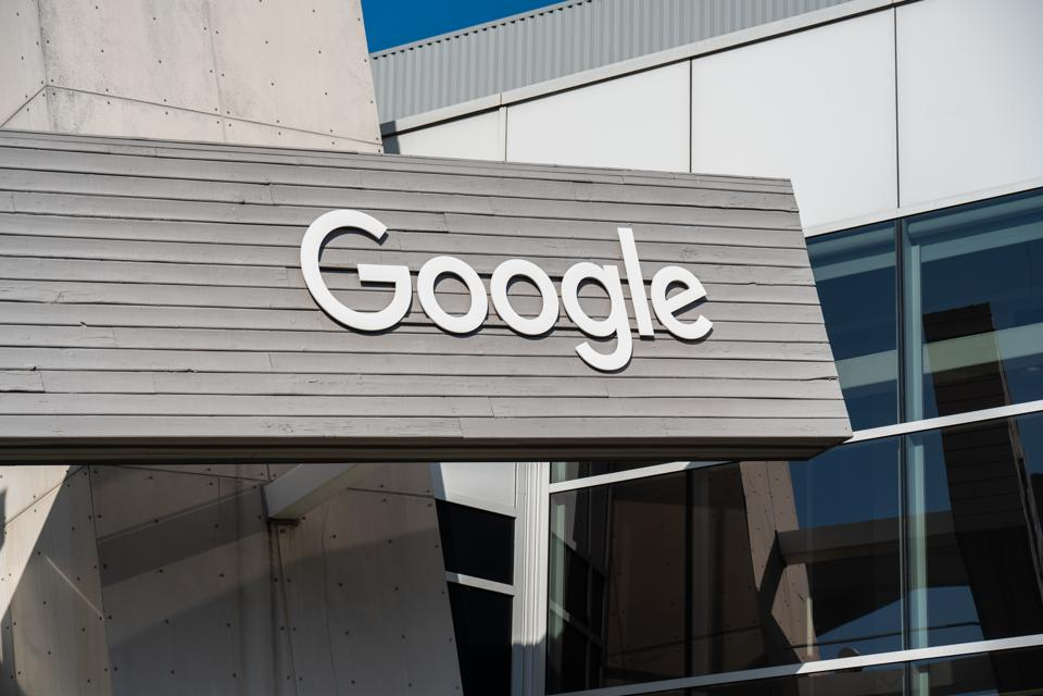 American multinational technology company Google logo seen...