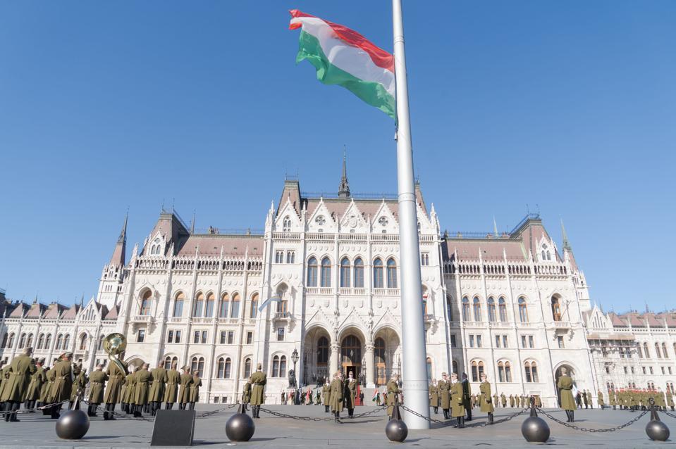 HUNGARY-BUDAPEST-NATIONAL HOLIDAY