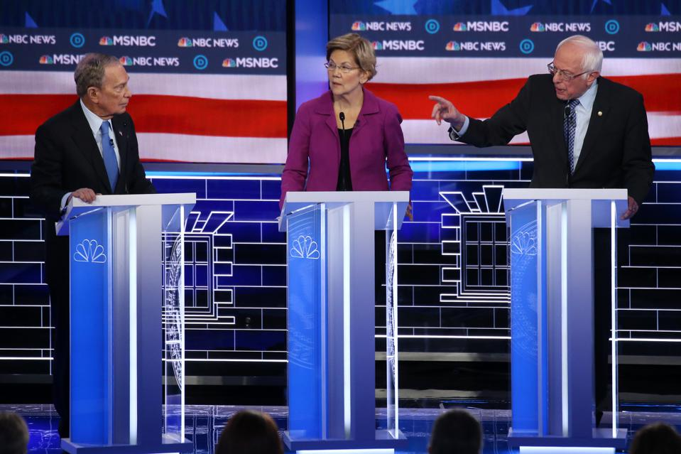 Lessons In The Power Of Organizing Concepts From Last Night's Democratic Debate