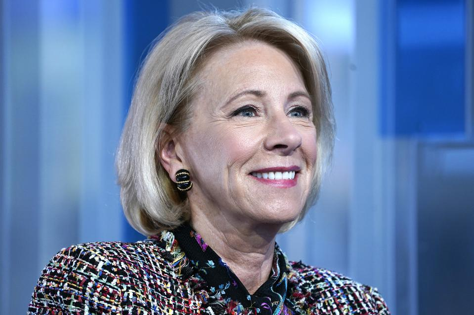 Education Secretary Betsy Devos and student loans