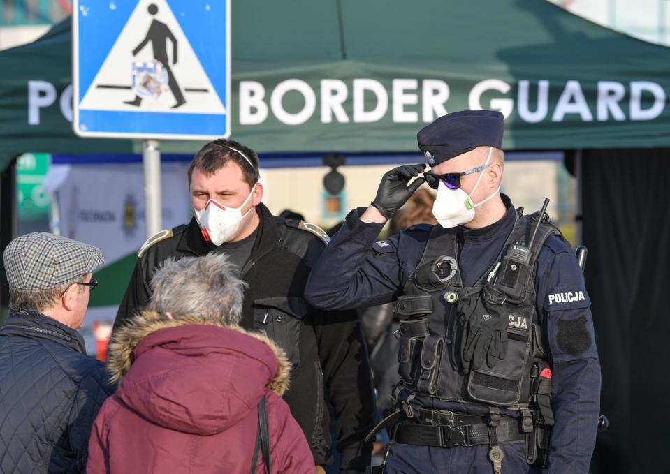 Coronavirus - Border crossing to Poland