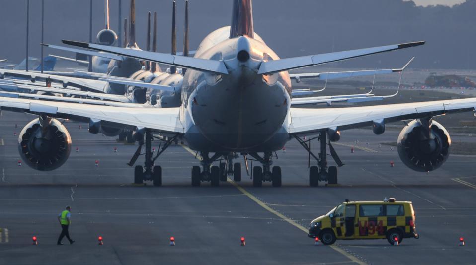 Coronavirus - Frankfurt Airport