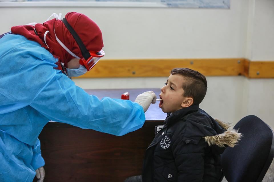 Coronavirus precautions in Gaza
