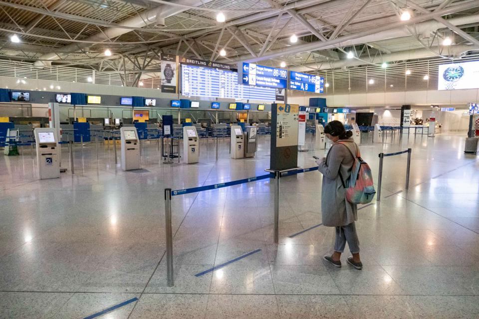 Schengen Airport travel ban Europe Extensions no US air passengers. Prohibition of traveling