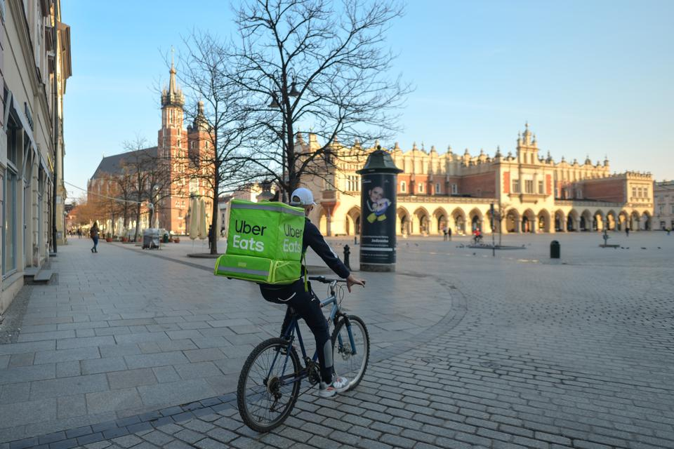 Food Delivery Services Ramp Up In Response To Coronavirus