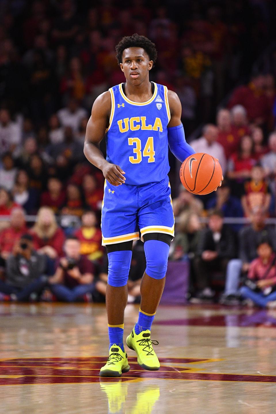 COLLEGE BASKETBALL: MAR 07 UCLA at USC