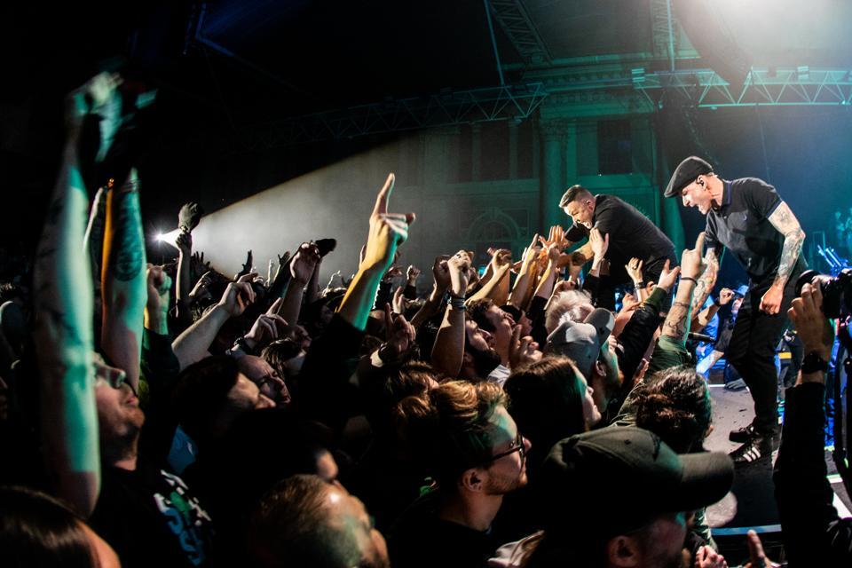 Dropkick Murphys Perform At Alexandra Palace