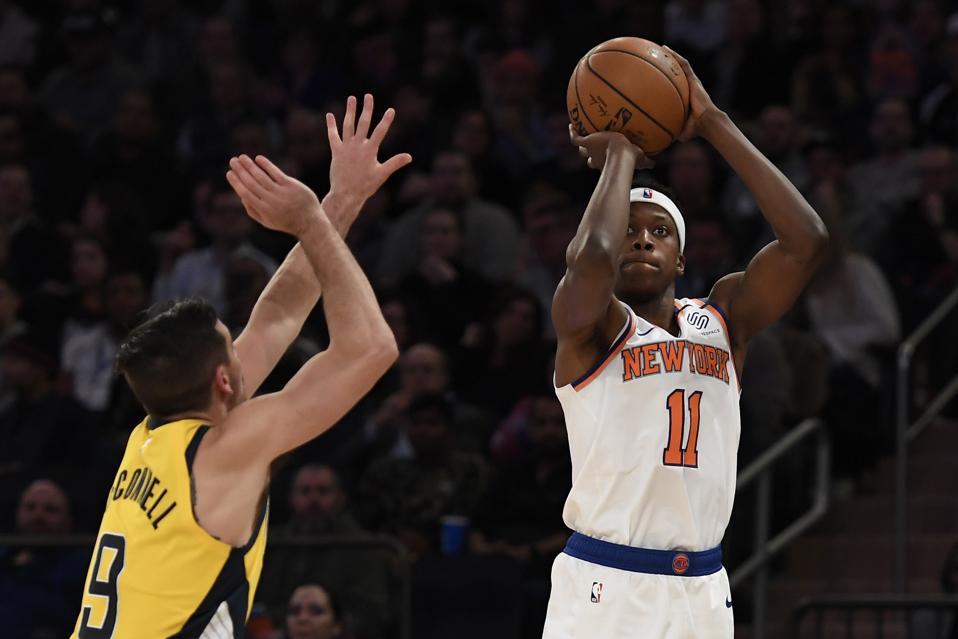 Les Knicks Parlaient Français Alors Qu'ils Perdaient