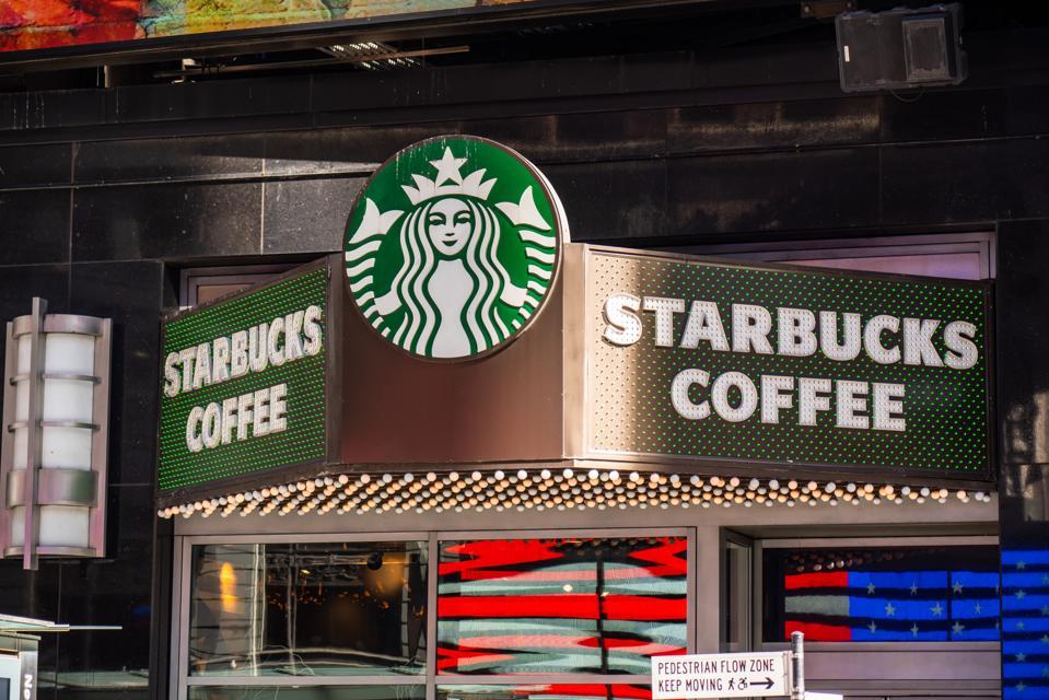 American coffee company and coffeehouse chain, Starbucks...