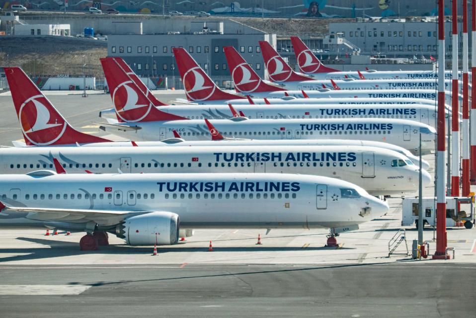Letiště v Istanbulu Dopad Coronavirus
