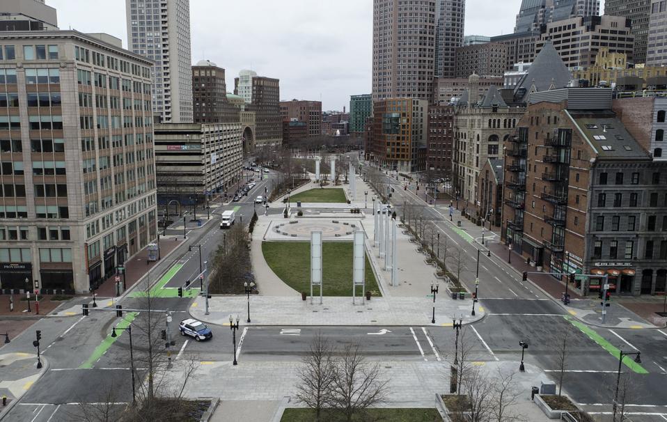 Boston Empty During Coronavirus Pandemic