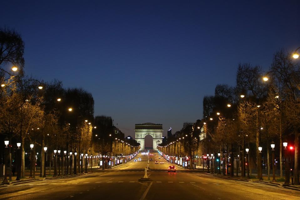 FRANCE-City of light-coronavirus-lockdown-empty-Paris