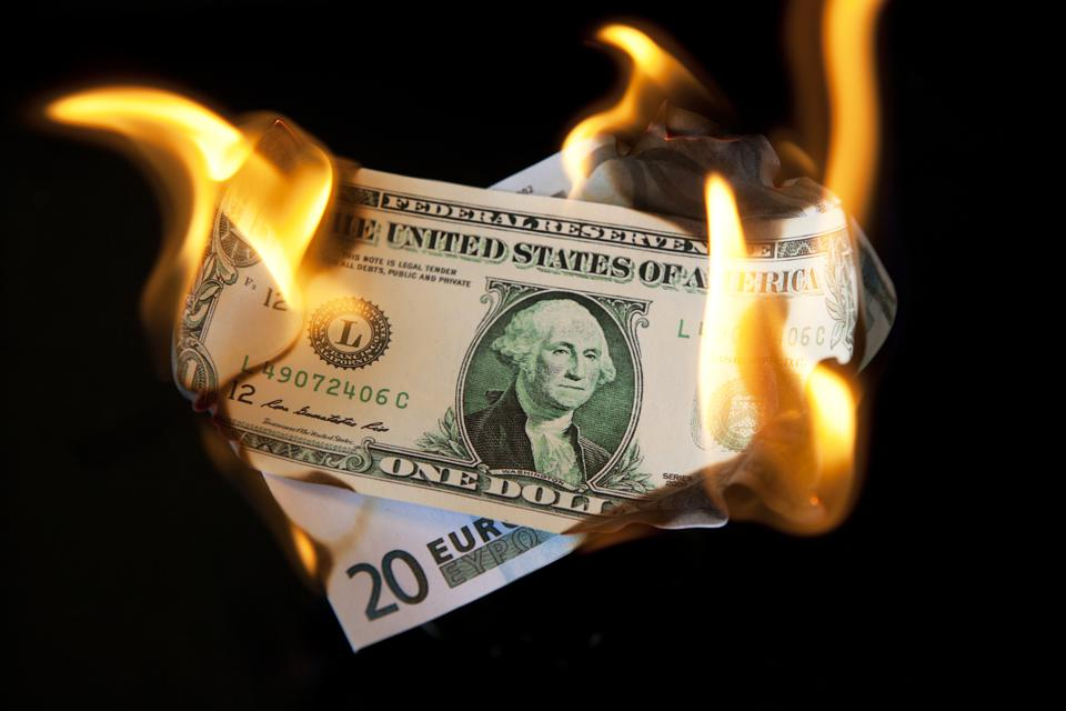 Currency In Flames