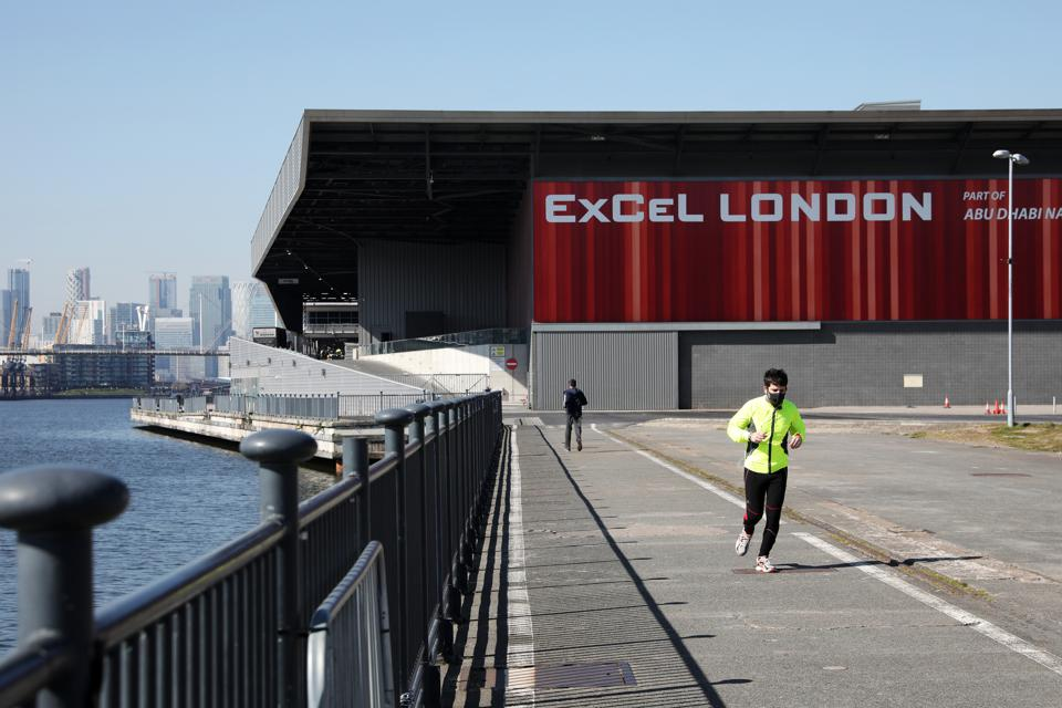 London's ExCeL Centre Converted Into Coronavirus Hospital