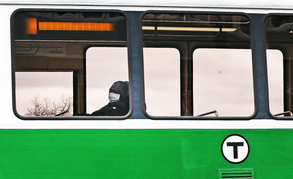Lone Rider on Green Line