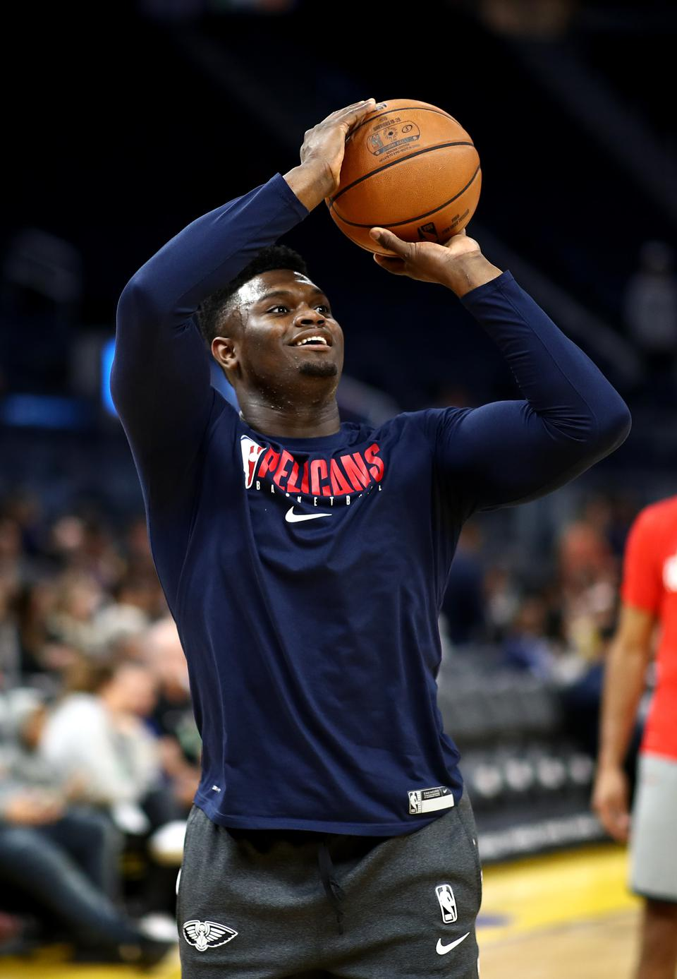 NBA player Zion Williams has donated money to support arena workers following the cancellation of the rest of the season