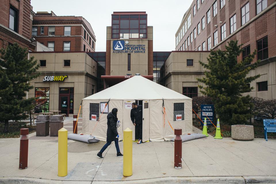 Coronavirus Testing Centers In Chicago