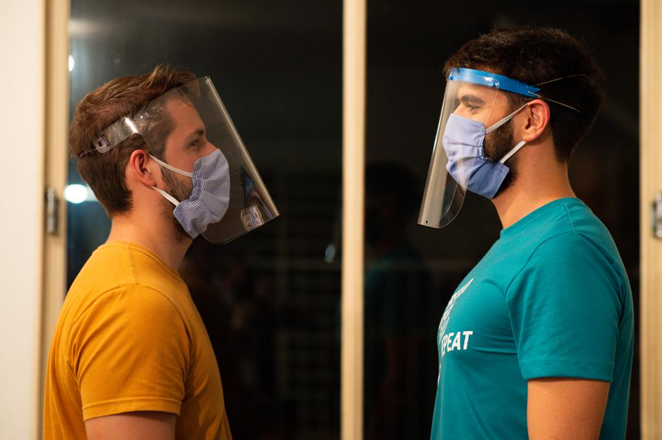 Volunteers Started Printing 3D Masks and Face Shields to be Donated