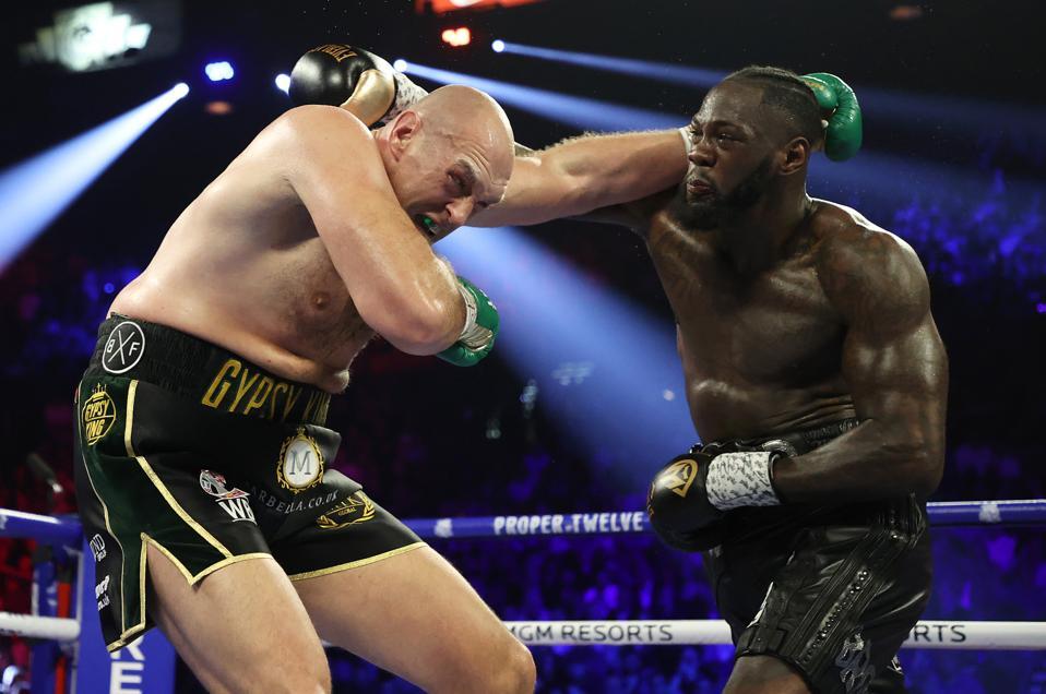 Deontay Wilder vs Tyson Fury best heavyweights in the world