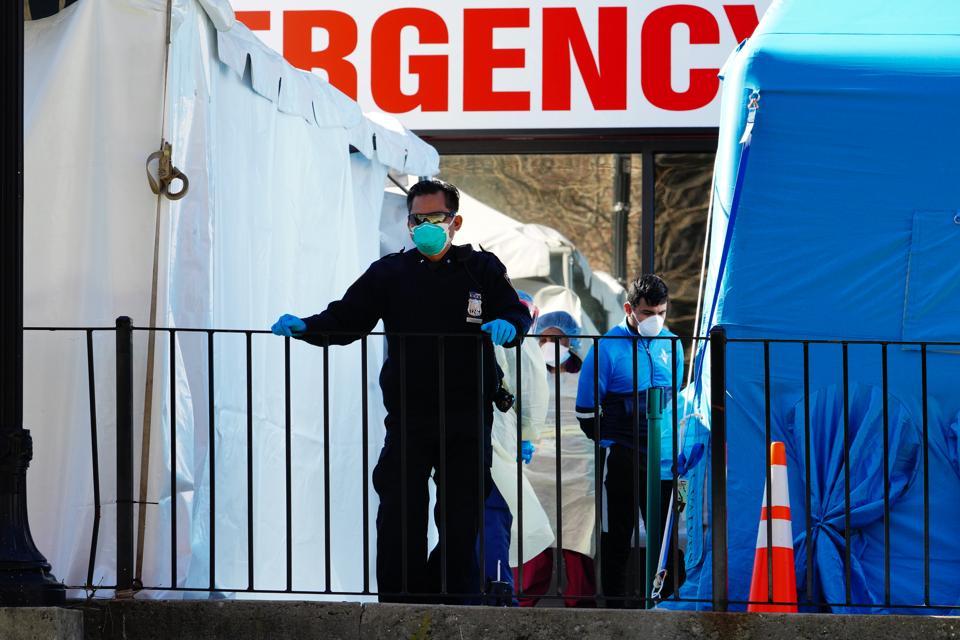 Coronavirus Emergency In New York City