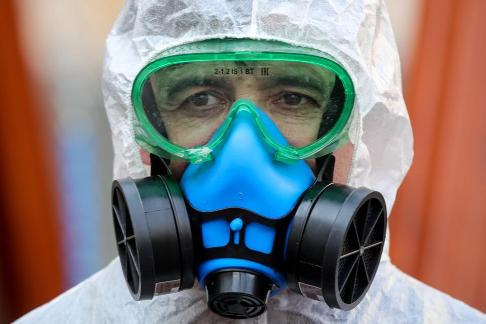 Moscow streets cleaned and disinfected amid COVID-19 pandemic
