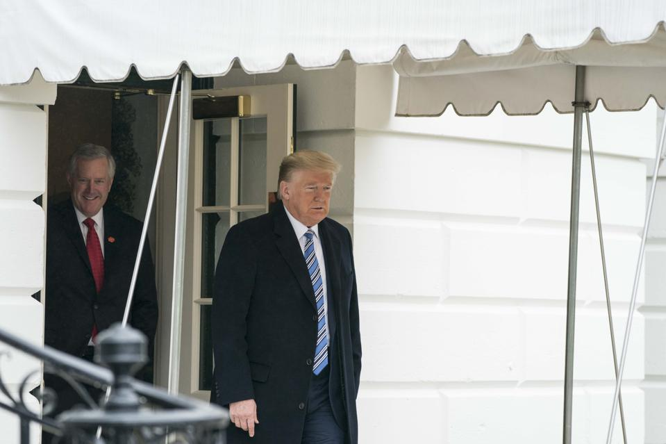 President Trump Departs The White House for Norfolk, VA
