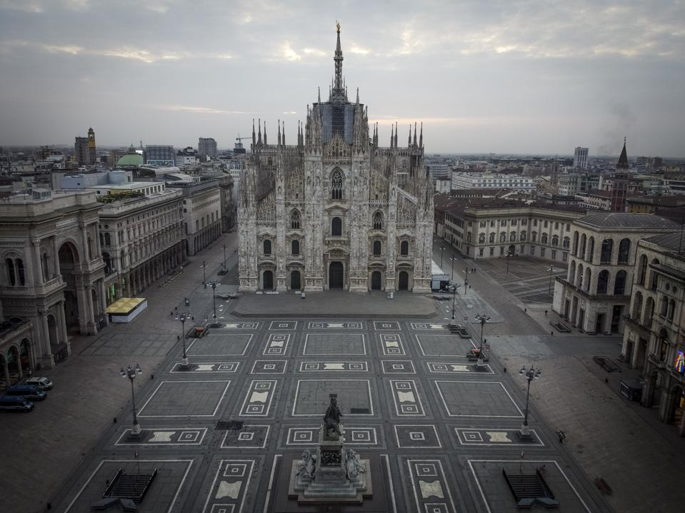 Once The Bustling Business Capital Of Italy, Milan Has ...