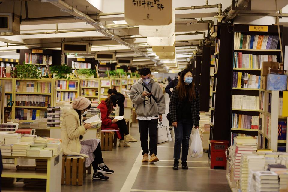 China Bookstore Coronavirus lockdown read books