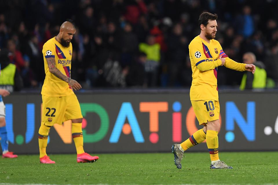 Local press have written off FC Barcelona's chances of winning the Champions League