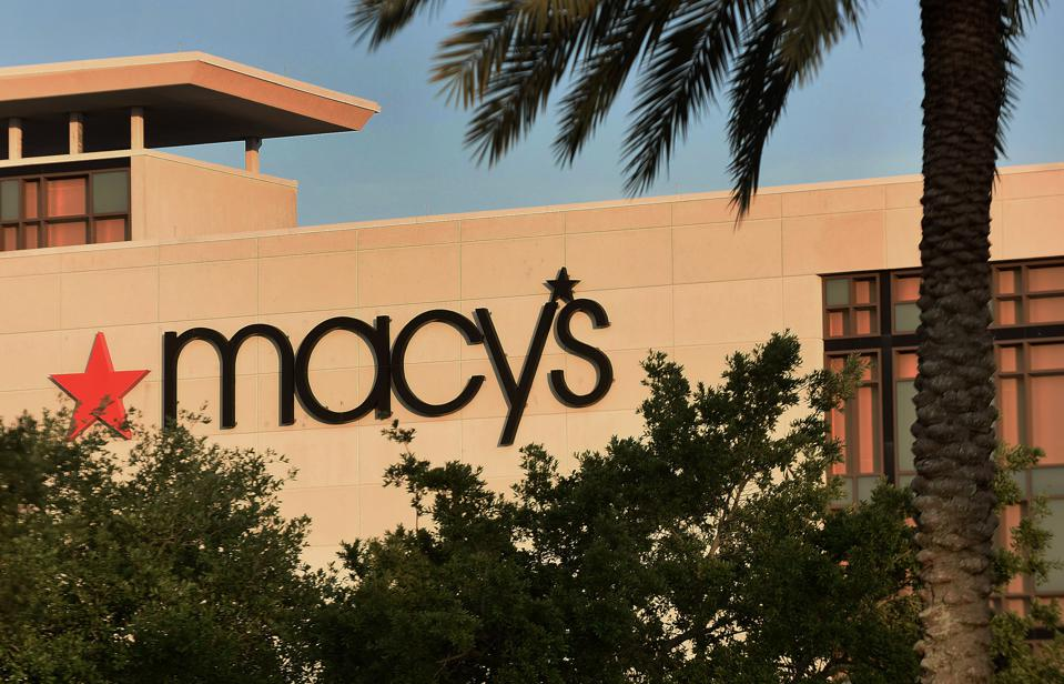 A Macy's store is seen on the day the company announced it...