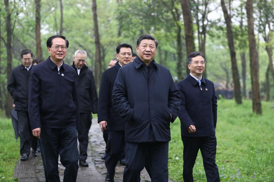 CHINA-ZHEJIANG-HANGZHOU-XI JINPING-INSPECTION (CN)