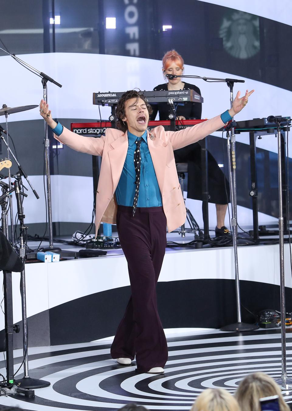 Harry Styles Performs On NBC's ″Today″...