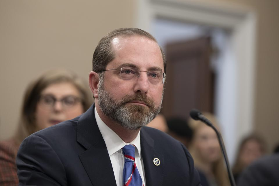 Health Secretary Alex Azar Refuses To Guarantee Coronavirus ...
