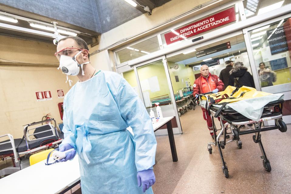 Northern Italy In The Grip Of Covid-19 Coronavirus