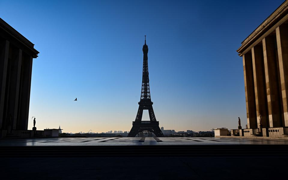 FRANCE-Coronavirus-Paris-Capital-Empty-lockdown
