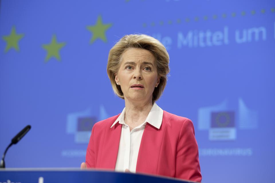 European Commission Ursula von der Leyen