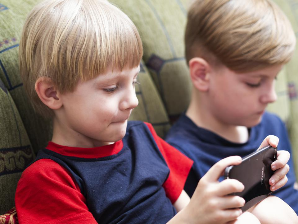 Children use social networks for learning, playing games and...