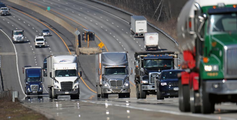 Despite Crisis, They Keep on Trucking To Meet Customer Demands
