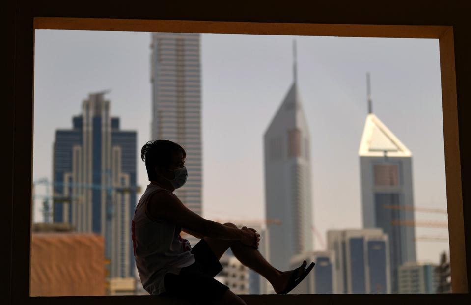 TOPSHOT-UAE-HEALTH-VIRUS