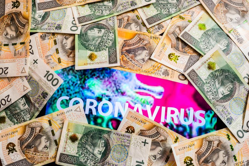 coronavirus, COVID-19, money, image
