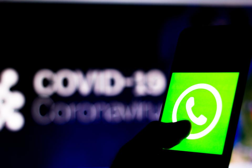 Whatsapp, Facebook, coroanvirus, pandemic, covid-19
