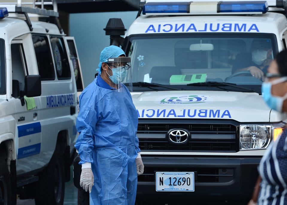 HONDURAS-HEALTH-VIRUS
