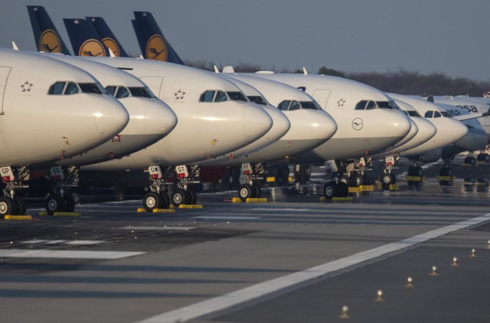 Coronavirus - Lufthansa, airlines, oil companies