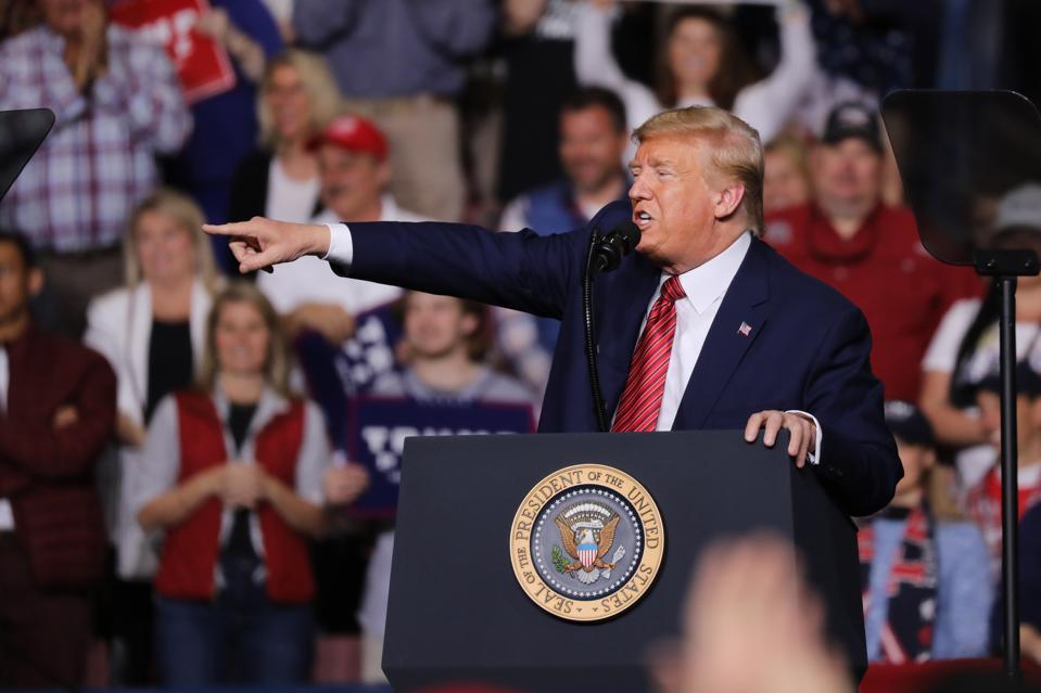 SOUTH CAROLINA President Donald Trump  (Photo by Spencer Platt/Getty Images)